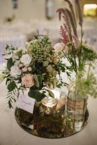 Infinito Amore allestimento tavoli matrimonio