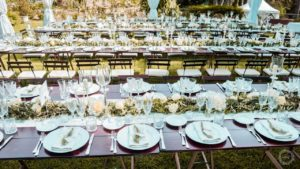 Villa Cala Grande wedding arrangements