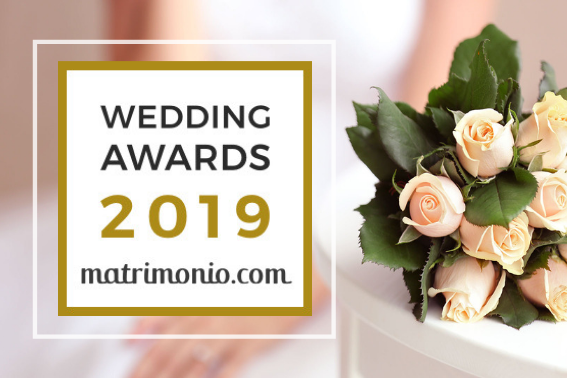 Infinito Amore receives the 2019 Wedding Awards