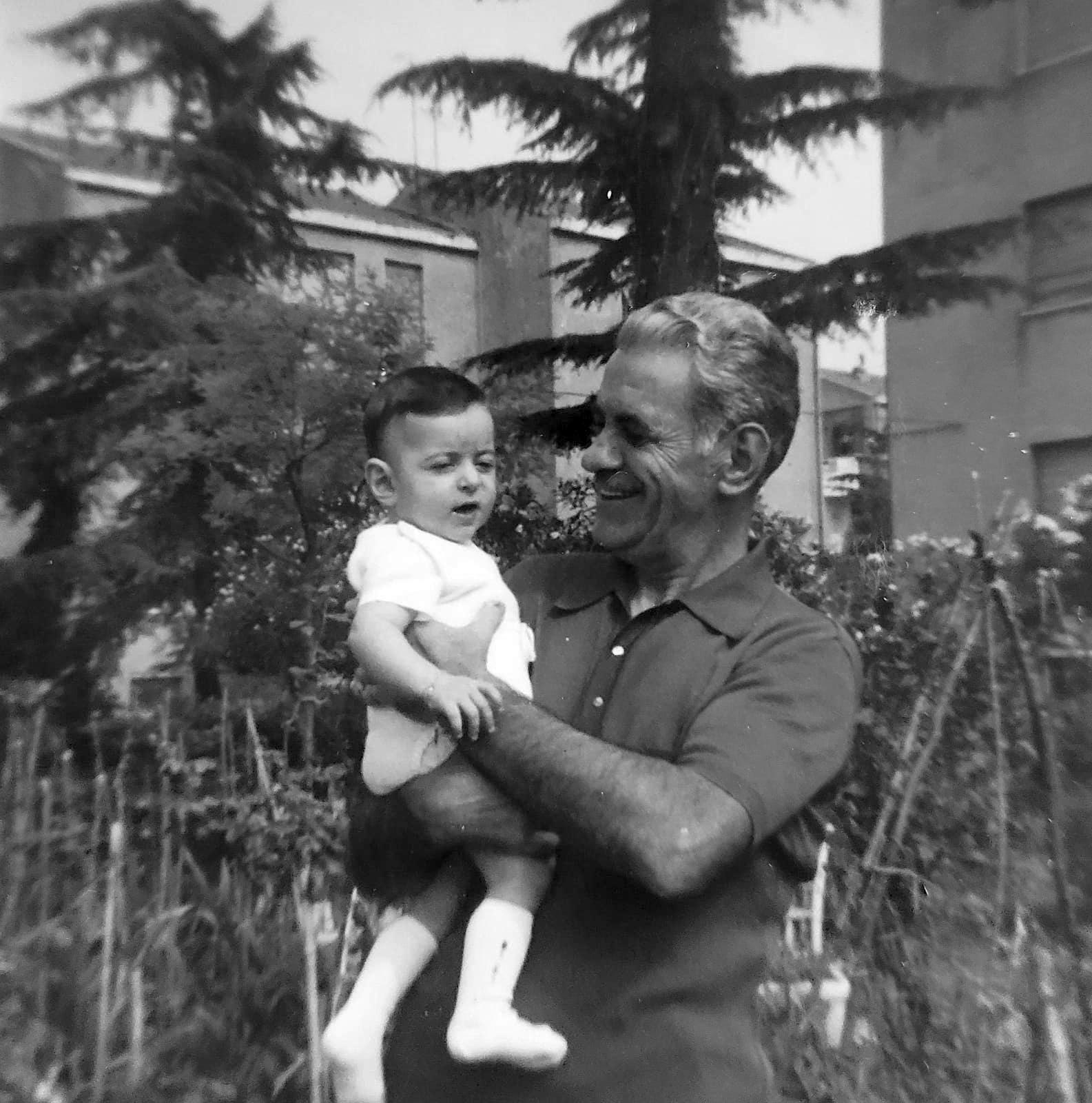 Serena Tosi con il Nonno